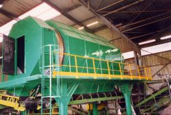 Waste sorting and classification trommel